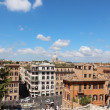 View of Roma from the Spanish Steps — Stock Photo