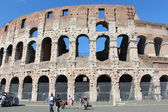 The Western side of the Coliseum, Roma — Stock Photo