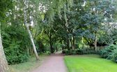 Old park in Gleuel-Hurth, Cologne, Germany — Stock Photo