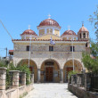 The Greek Orthodox Metropolitan church of Aegina, Saronic Islands, Greece — Stock Photo