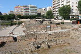 Ancient Agora in Thessaloniki or Roman Forum — Stock Photo