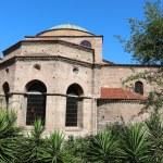 Hagia Sophia Byzantine church in Thessaloniki — Stock Photo #49499013