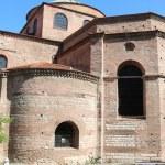 Hagia Sophia Byzantine church in Thessaloniki — Stock Photo #49499015