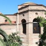 Hagia Sophia Byzantine church in Thessaloniki — Stock Photo #49499029