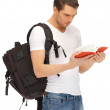 Travelling student — Stock Photo #12453075