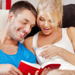 Happy couple at home — Stock Photo #12550908