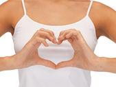 Forma w kształcie serca — Zdjęcie stockowe