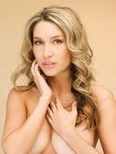 Beautiful topless woman — Stock Photo