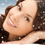 Beautiful woman in spa salon — Stock Photo #15854539