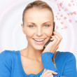 Woman with cell phone - Stock Photo