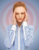 Mujer infeliz — Foto de Stock