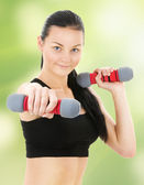 Fitness instructor — Stock Photo