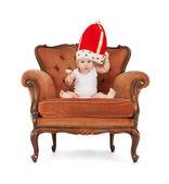 男婴与棒棒糖 — 图库照片