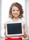 Fille avec tablet pc — Photo