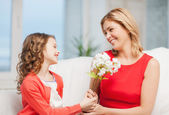 Mother and daughter — Foto Stock