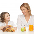 Mother and daughter — Stock Photo #21518941