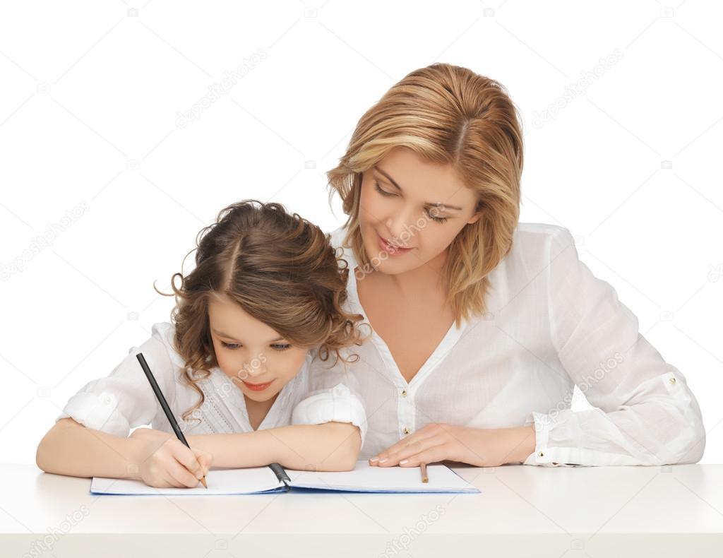 Смотреть онлайн мама помогла сделать уроки 6 фотография