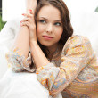 Calm thinking or dreaming woman — Stock Photo #21978133