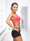 Beautiful sporty woman — Stock Photo