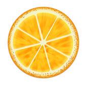 切片的橙色 — 图库照片