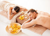 Couple en spa — Photo