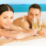 Couple on the beach — Stock Photo #25998239