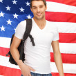 Travelling student — Stock Photo #26146389