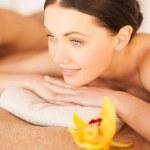 Woman in spa — Stock Photo