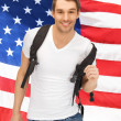Travelling student — Stock Photo #26471745