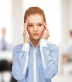Stressed woman — Stockfoto