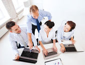 Group of working in call center — Stock Photo