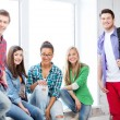 Group of students at school — Stock Photo #28686591