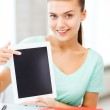 Smiling student girl with tablet pc — Stock Photo #29245311