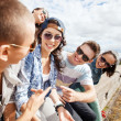 Group of teenagers hanging out — Stock Photo #30553345