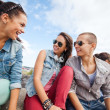 Group of teenagers hanging out — Stock Photo #30596209