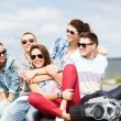 Group of teenagers hanging out — Stock Photo #31317209