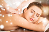Woman in spa — Stock Photo