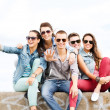 Group of teenagers hanging out — Stock Photo #31713631