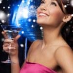 donna con cocktail — Foto Stock