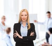 Smiling businesswoman — Stock Photo