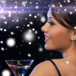 Woman with cocktail — Stock Photo #33301441