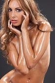 Beautiful naked woman — Stock Photo