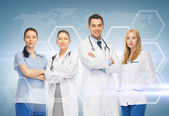 Young team or group of doctors — Stock Photo
