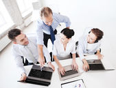 Group of people working in call center — Stock Photo