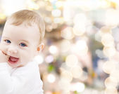 Förtjusande baby pojke — Stockfoto
