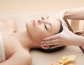 Asian woman in spa — Stock Photo