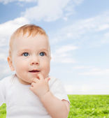 Smiling little baby — Stock Photo