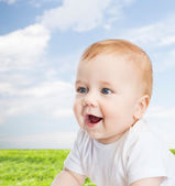 Smiling little baby — Foto de Stock