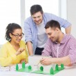 Smiling architects working in office — Stock Photo #48951427