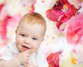 Smiling little baby — Foto Stock